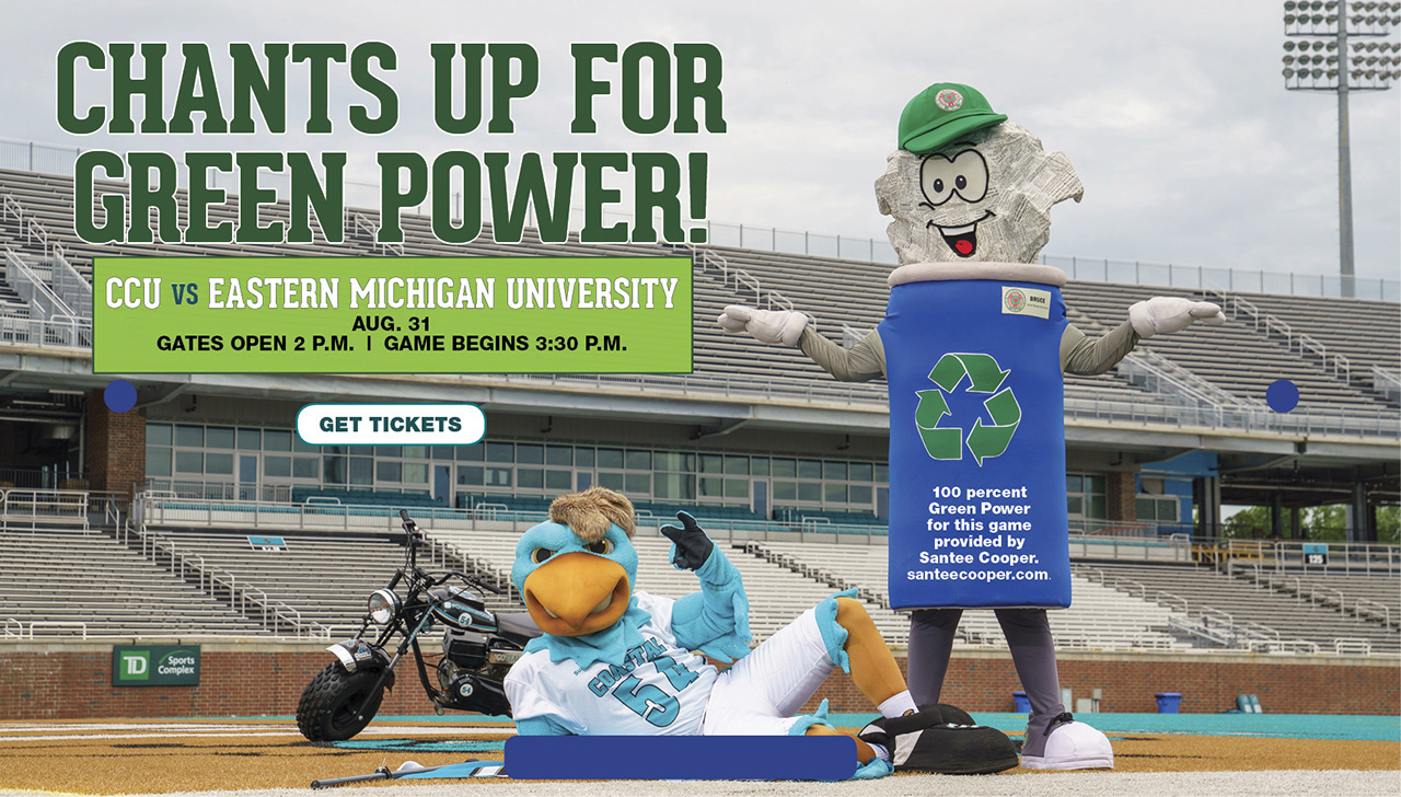 Chants Up For Green Power Game