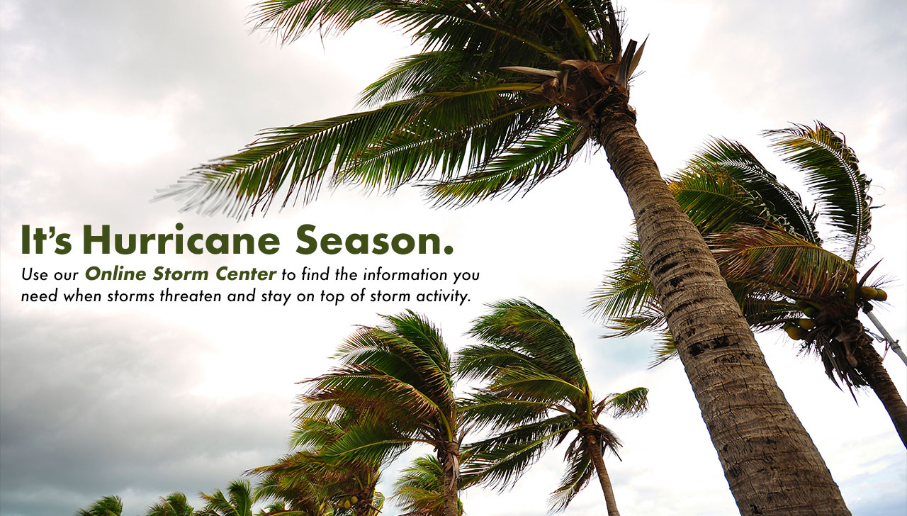 Hurricane Season - Be Prepared
