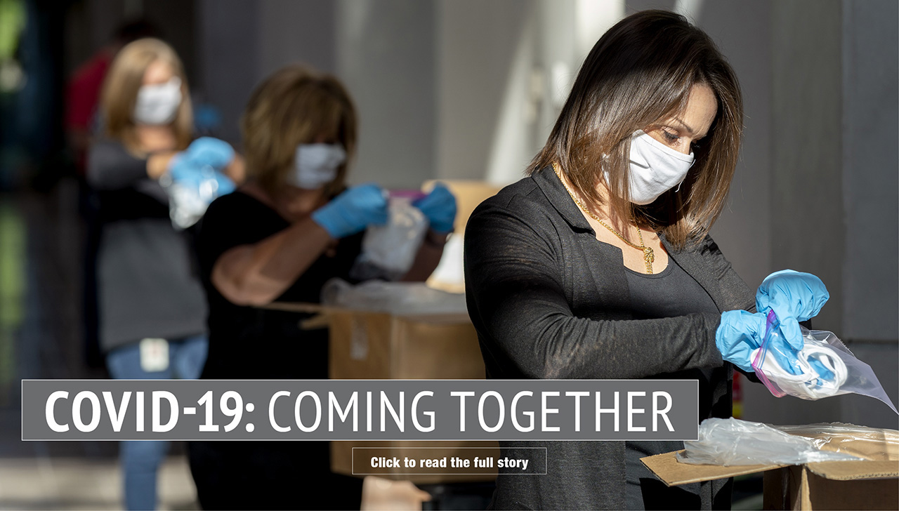 COVID - 19 - Coming Together