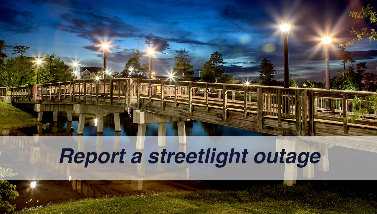Report Street Light Outage